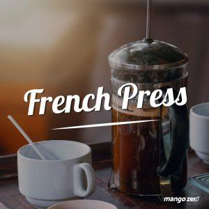ชงกาแฟแบบ French Press